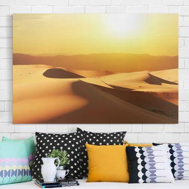 Stampa su tela - The Saudi Arabian desert - Orizzontale 3:2