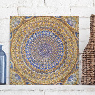 Stampa su tela - Dome Of The Mosque - Quadrato 1:1