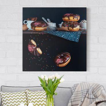 Stampa su tela - Donuts from the Top Shelf - Quadrato 1:1