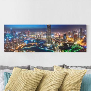 Stampa su tela - Dubai Marina - Panoramico
