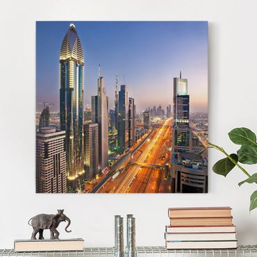 Stampa su tela - Dubai - Quadrato 1:1