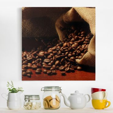 Stampa su tela - Dulcet Coffee - Quadrato 1:1