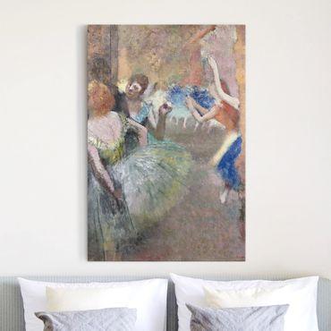 Stampa su tela Edgar Degas - Scena il Balletto - Verticale 2:3
