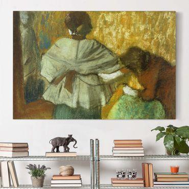 Stampa su tela - Edgar Degas - milliner - Orizzontale 3:2