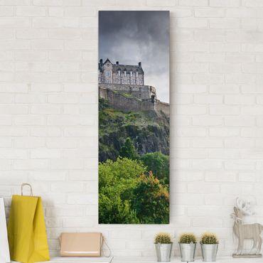 Stampa su tela - Edinburgh Castle - Pannello