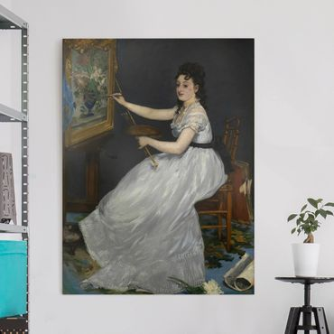 Stampa su tela - Edouard Manet - Eva Gonzalès - Verticale 3:4