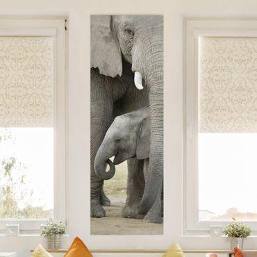 Stampa su tela - Elephant Love - Pannello