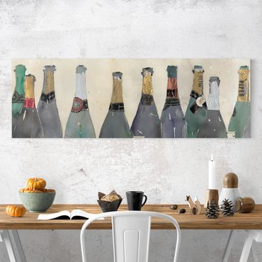 Stampa su tela - Stappato - Champagne - Panoramico