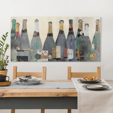 Stampa su tela - Uncorked - Champagne - Orizzontale 2:1
