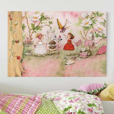 Stampa su tela - The Strawberry Fairy - Tailer room - Orizzontale 3:2