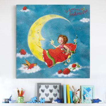 Stampa su tela - The Strawberry Fairy - Sweet Dreams - Quadrato 1:1