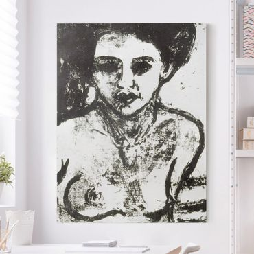 Stampa su tela - Ernst Ludwig Kirchner - Bambino dell'Artista - Verticale 3:4