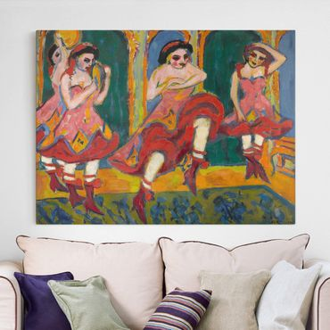 Stampa su tela - Ernst Ludwig Kirchner - Czardas Ballerini - Orizzontale 4:3