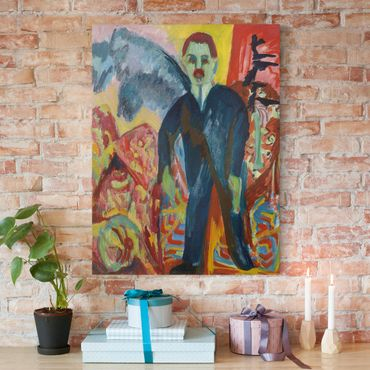 Stampa su tela - Ernst Ludwig Kirchner - L'inserviente - Verticale 3:4