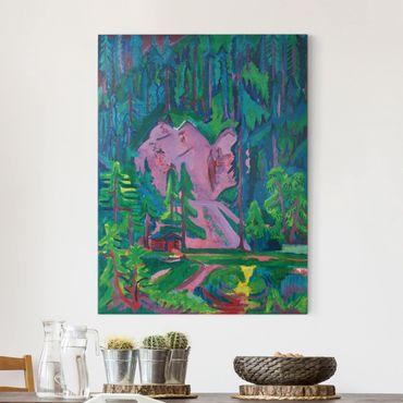 Stampa su tela - Ernst Ludwig Kirchner - Cava in the Wild - Verticale 3:4