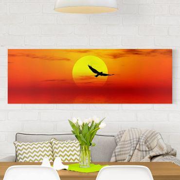 Stampa su tela - Fabulous Sunset - Panoramico