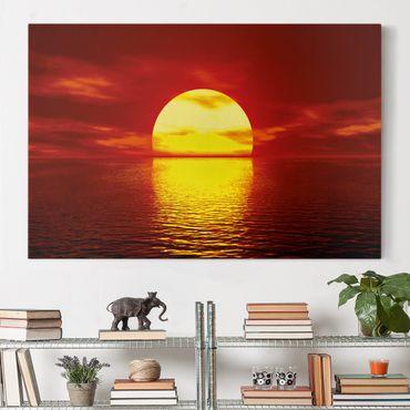 Stampa su tela - Fantastic Sunset - Orizzontale 3:2