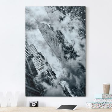 Stampa su tela - Facciata della Empire State Building - Verticale 2:3