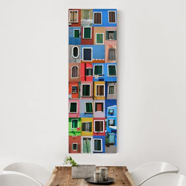 Stampa su tela - Window Of The World - Pannello