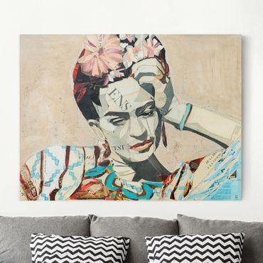 Stampa su tela - Frida Kahlo - Collage No.1 - Orizzontale 4:3