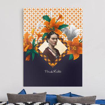 Stampa su tela - Frida Kahlo - Lilies - Verticale 3:4