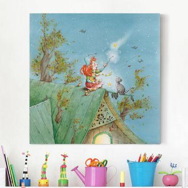 Stampa su tela - Frida And Tomcat Pumpernickel Let The Stars Free - Quadrato 1:1