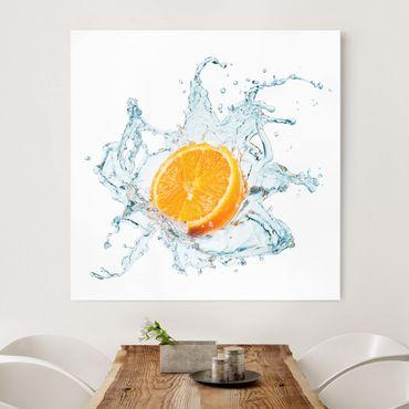 Stampa su tela - Fresh Orange - Quadrato 1:1