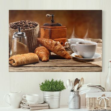Stampa su tela - Breakfast Table - Orizzontale 3:2