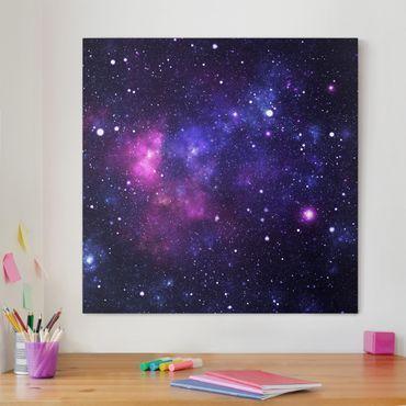 Stampa su tela - Galaxy - Quadrato 1:1