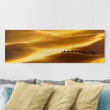 Stampa su tela - Golden Dunes - Panoramico