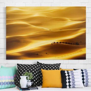Stampa su tela - Golden Dunes - Orizzontale 3:2
