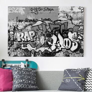 Stampa su tela - Graffiti Art - Orizzontale 3:2