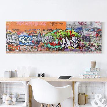 Stampa su tela - Graffiti - Panoramico