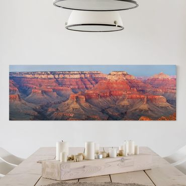 Stampa su tela - Grand Canyon After Sunset - Panoramico