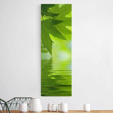 Stampa su tela - Green Ambiance III - Pannello