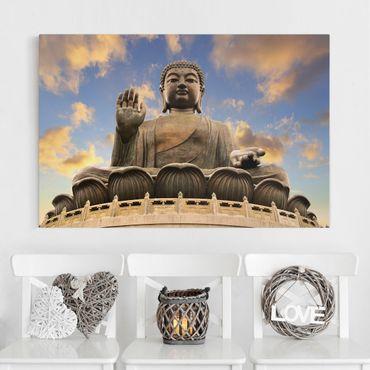 Stampa su tela - Big Buddha - Orizzontale 3:2