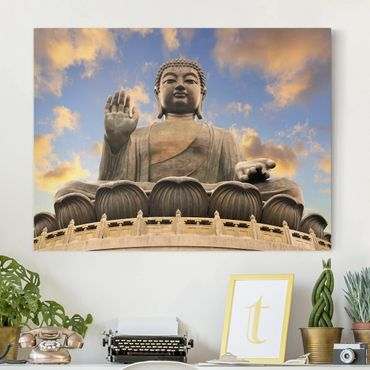 Stampa su tela - Big Buddha - Orizzontale 4:3