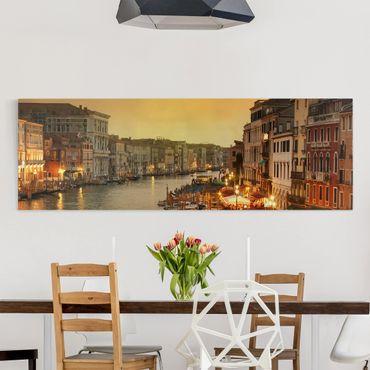 Stampa su tela - Grand Canal Of Venice - Panoramico