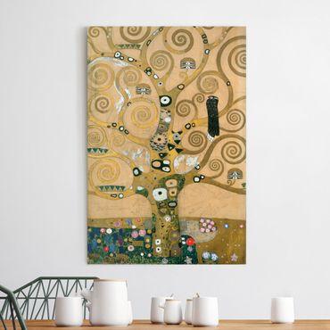 Stampa su tela Gustav Klimt - L'Albero della Vita - Verticale 2:3