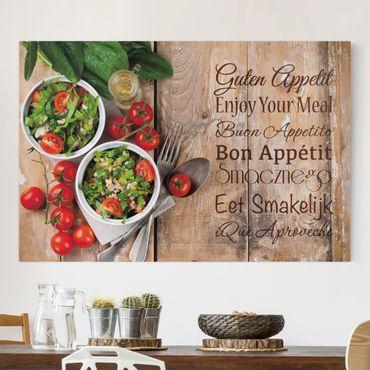 Stampa su tela - Good Appetite - Orizzontale 3:2