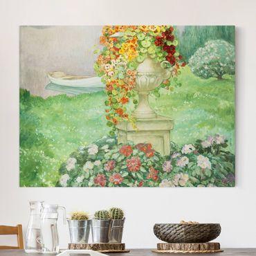 Stampa su tela - Henri Lebasque - Il giardino - Orizzontale 4:3