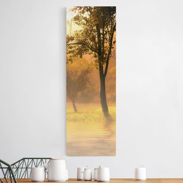 Stampa su tela - Autumn Morning - Pannello