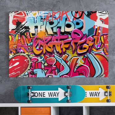 Stampa su tela - Hip Hop Graffiti - Orizzontale 3:2