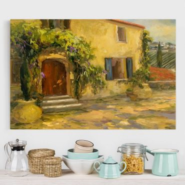 Stampa su tela - Campagna italiana - Toscana - Orizzontale 3:2