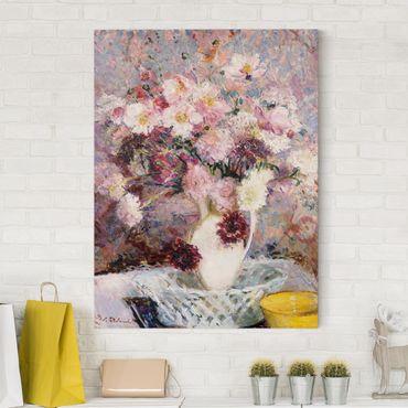Stampa su tela - Jacques-Emile Blanche - Un mazzo di fiori - Verticale 3:4