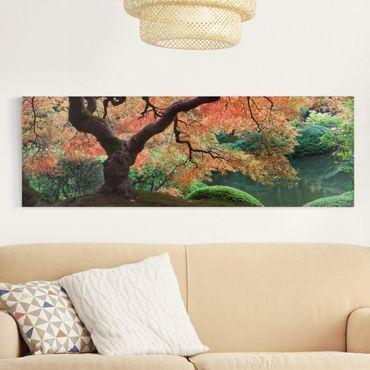 Stampa su tela - Japanese Garden - Panoramico