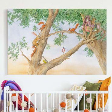 Stampa su tela - Josi Bunny - House Of Squirrels - Orizzontale 3:2