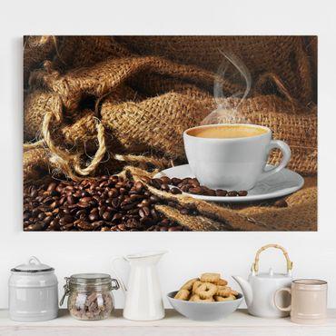 Stampa su tela - Morning Coffee - Orizzontale 3:2