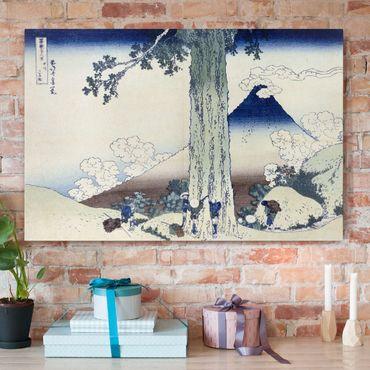 Stampa su tela - Katsushika HokUSAi - Mishima Pass in Kai Province - Orizzontale 3:2