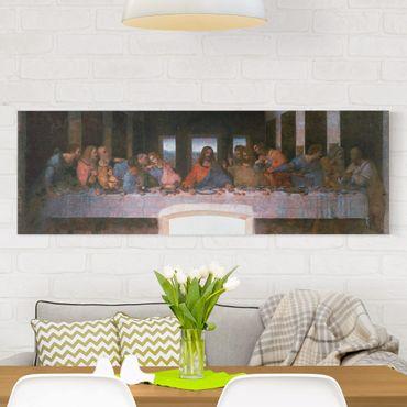 Stampa su tela - Leonardo Da Vinci - L`ultima cena - Panoramico